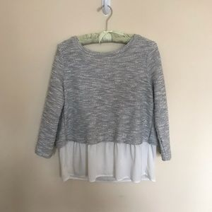 ANTHROPOLOGIE Back-Tie Sweater